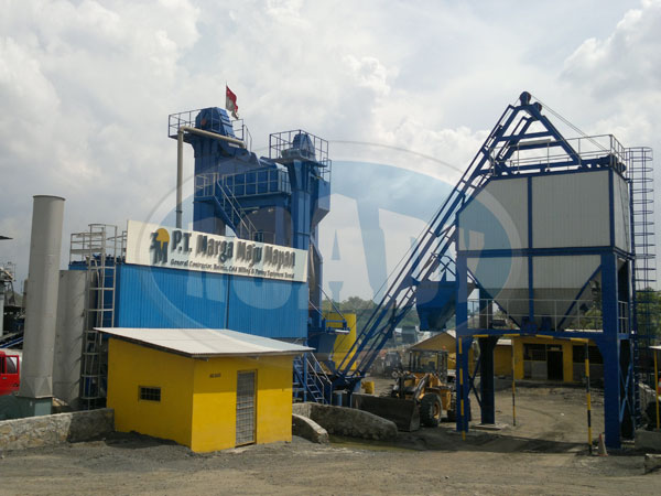 RD105 Asphalt Plant To Indonesia